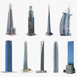 3D skyscrapers 7