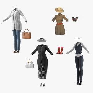 women costumes 2 model