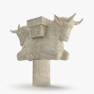 cow persepolis 3D model
