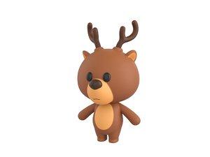 3D deer character