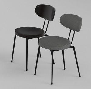 3D design chair model