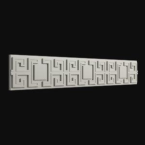 frieze 12 3D