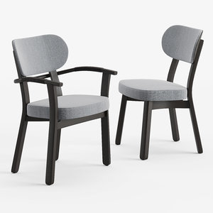 porada evelin chair 3D model