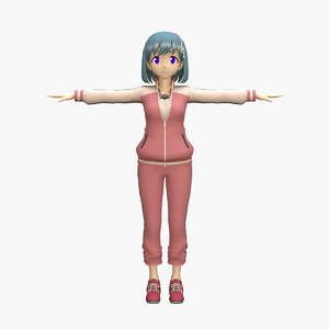 3D anime teacher v4