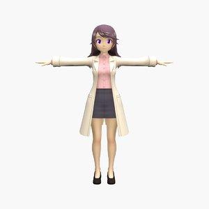 anime teacher v5 model
