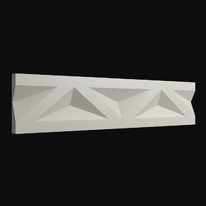 frieze 34 3D model