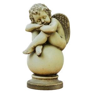 3D sculpture angel boy