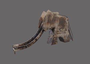 3D old elephand slide pripyat