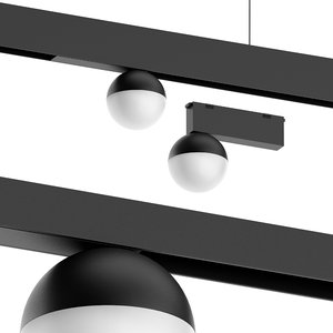shar track light 3D model