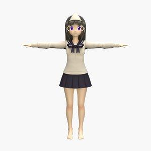 3D yuko rigged games
