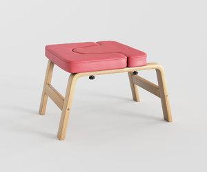 3D yoga chair