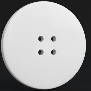small button 3D model