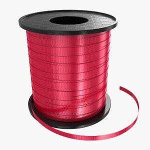 ribbon rolls 01 3D