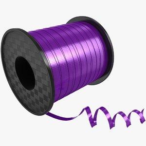 3D ribbon rolls 02