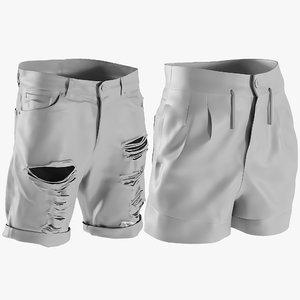 3D mesh men s shorts