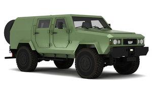 MilitaryVehicle3Dmodel