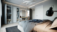 Simple Bedroom Interior 4