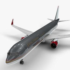 a321 neo royal jordanian 3D model