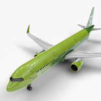 Airbus A321 neo S7 Airlines L1081