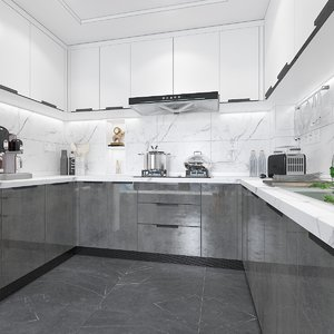 kitchen equipment decorative 3D model