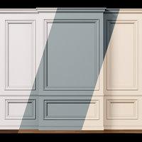 Wall molding 9  Boiserie classic panels