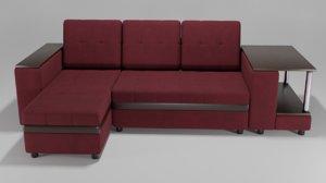 3D wolberg hoff sofa interior