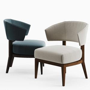 3D porada lenie chair