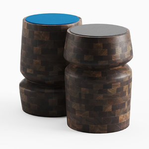 3D porada bouchon stool