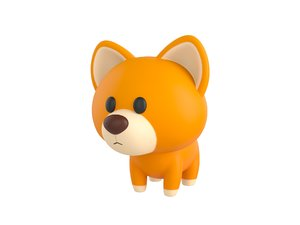 dog character 3D