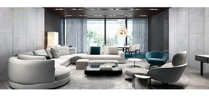 3D sofa room