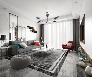 living room interiors simple model