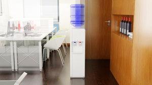 3D interior office