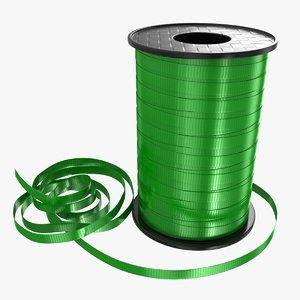 ribbon rolls 04 3D model