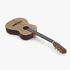 guitar 6 3D model