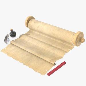 parchment ink model