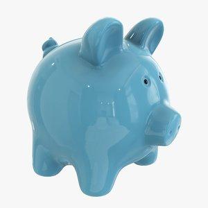 3D ceramic money bank
