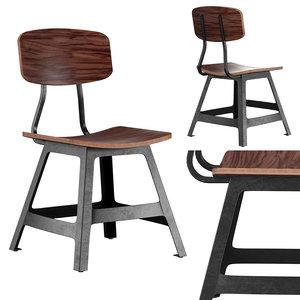 3D work chair ms-525-stw model