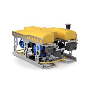 rov vehicle 3D