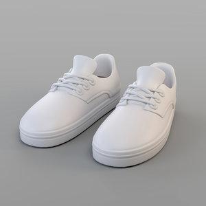 3D sand shoes model