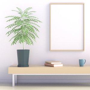 3D plant 01