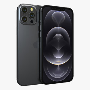 3D apple iphone 12 pro model