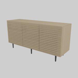 modern cabinet 3D