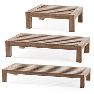 3D lars table piet model