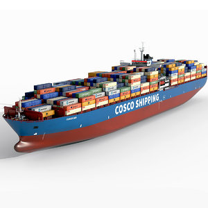 cosco ship model