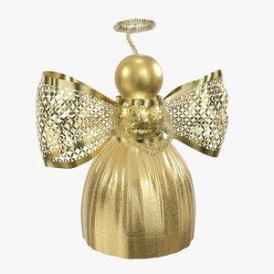 christmas angel decoration model