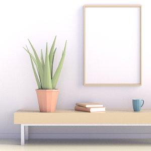 plant 05 3D model