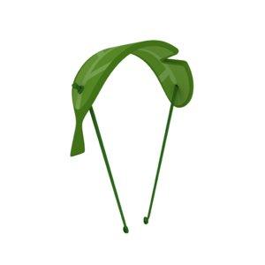 3D cartoon leaf parachute model