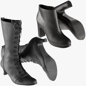 3D realistic heels 19 shoes