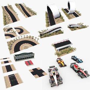 3D race kit