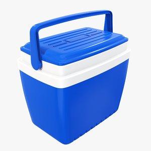 3D model cooler handle box